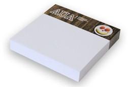Haftnotizen 100 x 75 mm: Haftnotizen, Papier weiß ca. 80g/qm, Format ca. 100 (Haftstreifen) x 75 mm / ca.
