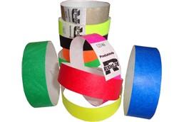 Einlassbänder TYVEK ohne Druck: Das Tyvek Band ist ein Band aus einem papierähnlichen Material, sehr preiswert u