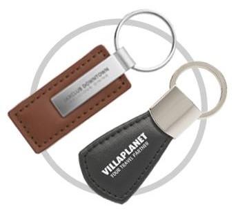 Schlüsselanhänger aus ökologischen Materialien