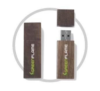 USB Holz