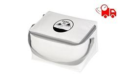 TOLDER SPEED Kühltasche EXPRESSVEREDELUNG Lieferung in 4 Tagen:   Polyester-Kühltasche, geeignet für 6 Getränkedosen. Mit Trageriemen.