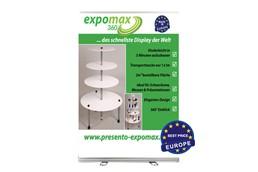 Roll-Up 150 x 200cm INKLUSIVE Latex-Digitaldruck samt Tasche:   Roll-Up aus hochwertigem Aluminium für große Auflagen und kleines Budget. Fü