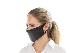 Gesichtsmaske (MNS) antibakteriell: Wiederverwendbare Mund-Nasenmaske, antibakteriell aufgrund integrierte Silberpar