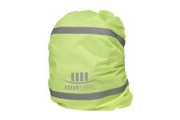 Schutzabdeckung für Rucksack: Wasserfest und dehnbar. Mit reflektierenden Streifen und Innentasche sowie Karab