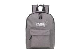 Tablet Backpack: Geräumiger, robuster Rucksack in grau mit einem Hauptfach, gepolstertem Fach für