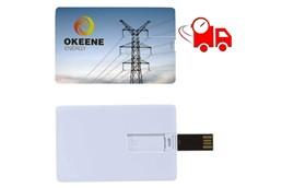 T-CARD USB-Stick im Kreditkartenformat EXPRESSVEREDELUNG Lieferung in 4 Tagen:   USB 2.0. Pro Stück in einerm Utui aus Imitatleder - verfügbare Speichergröße