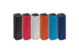 Powerbank 2200c: Powerbank (Li-Ionen) aus Kunststoff mit einer Leistung von 2200 mAh und USB Ansc