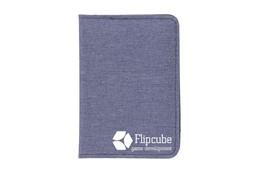RFID Carda Kartenhalter:   RFID Kreditkartenhalter aus gewebtem Polyester mit Nylon Innerem und 7 Kredi