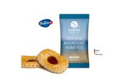 Deloba Keks: Produktinformation: Feines Blätterteiggebäck aus dem Hause Bahlsen mit einer Fru