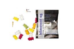 Gummibärlis im Werbesackerl (10 g): Inhalt: ca. 10 g Gummibärchen mit 10% Fruchtanteil - ohne künstliche Farbstoffe