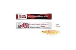 Knacksbrause: Inhalt: ca. 2 g Knisterbrause; Geschmacksrichtgungen: Zitrone, Himbeer; Verpacku
